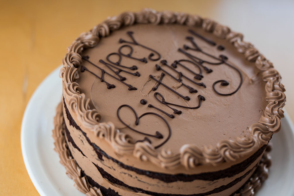 Birthday Celebrations + Custom Cakes!